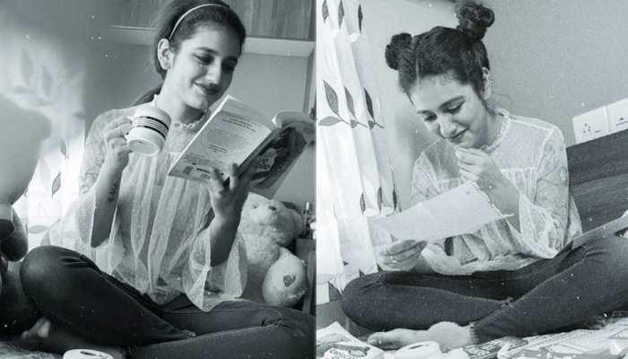 Watch the latest photos of priya prakash varrier