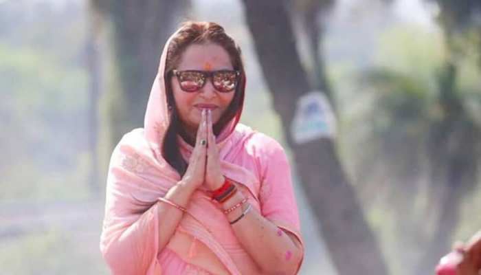 Jaya Prada's Birthday today and will file nomination from rampur lok sabha seat today