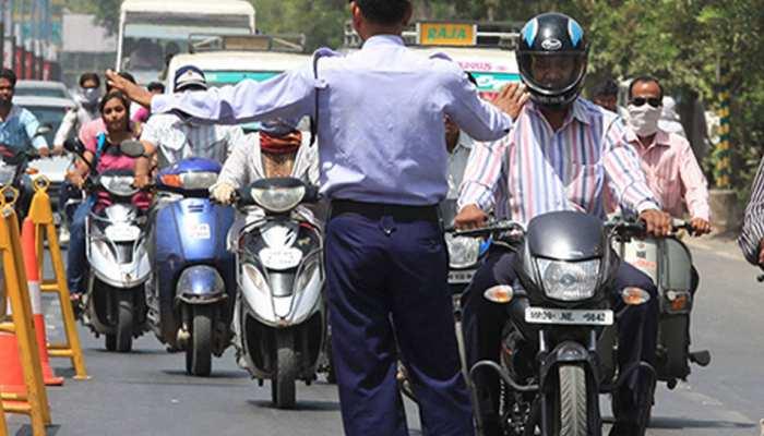 MP: कांग्रेस नेता से भिड़ गया था ट्रैफिक पुलिसकर्मी, विभाग ने कहा- आप ट्रेनिंग लेकर आइए