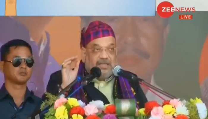 पूर्वोत्तर में शांति और विकास लेकर आई है भाजपा: अमित शाह