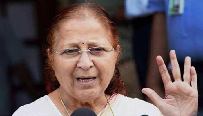 सुमित्रा महाजन ने कहा, 'मुझे चुनाव नहीं लड़ना है, इंदौर सीट पर फैसला लेने में देरी क्यों?'