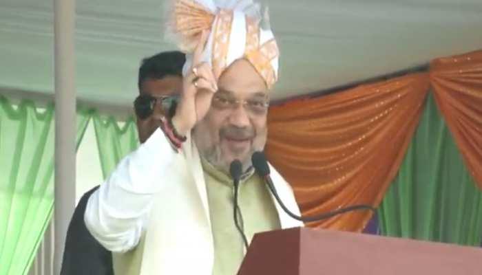 मणिपुर में बोले अमित शाह, 'BJP नीत सरकार में प्रदेश नाकाबंदी मुक्त बना'
