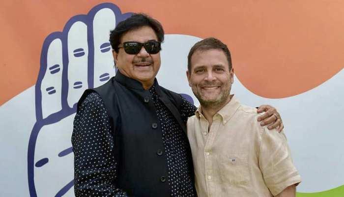आज कांग्रेस पार्टी में शामिल होंगे शत्रुघ्न सिन्हा, पटना साहिब से लड़ सकते हैं चुनाव