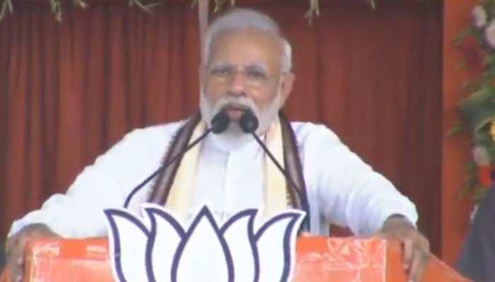 यह चुनाव तय करेगा कि भारत के हीरो मजबूत होंगे या पाकिस्तान के पक्षकार : PM मोदी