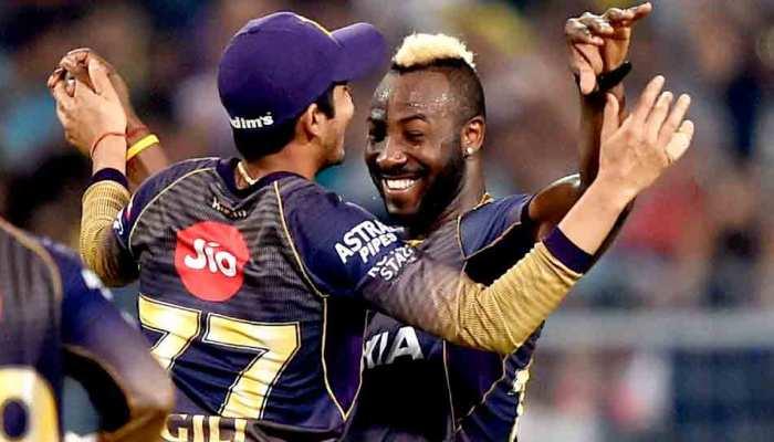 IPL 2019 में रसेल का नहीं है कोई जोड़, हर बॉलरों को दे रहे हैं 'मसल'