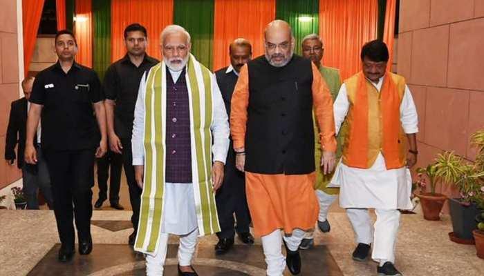 BJP ने कुछ ऐसे तैयार किया है अपना संकल्प पत्र, इन नेताओं ने निभाई अहम भूमिका