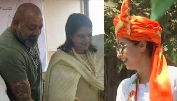 उर्मिला मातोंडकर ने नॉर्थ मुंबई से फाइल किया नॉमिनेशन, प्रिया दत्त ने भी भरा पर्चा