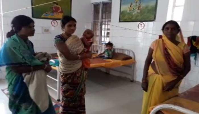 सासाराम पोषण पुनर्वास केंद्र में बच्चों को नहीं मिल रहा पेट भर खाना