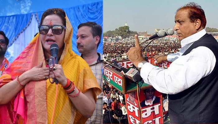 आजम ने जयाप्रदा के लिए की गलत बात, BJP नेता बोलीं, 'मेरे संस्कार ऐसे नहीं'