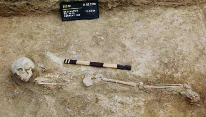 सासाराम: पुरातत्व विभाग को खुदाई में मिले 5000 साल पुराने अवशेष, निकले नरकंकाल-चुल्हे और हथियार