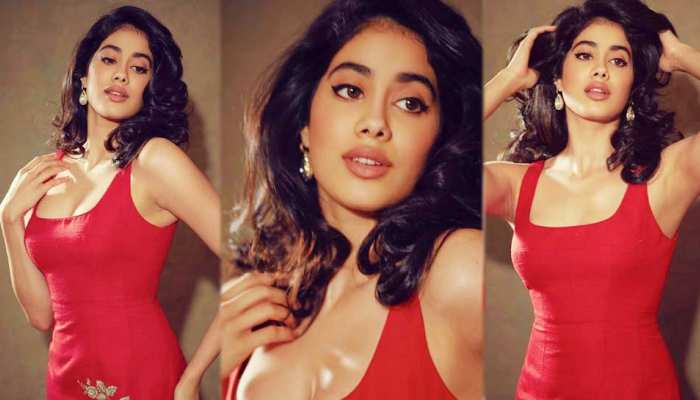 See the latest viral photos of Janhvi Kapoor