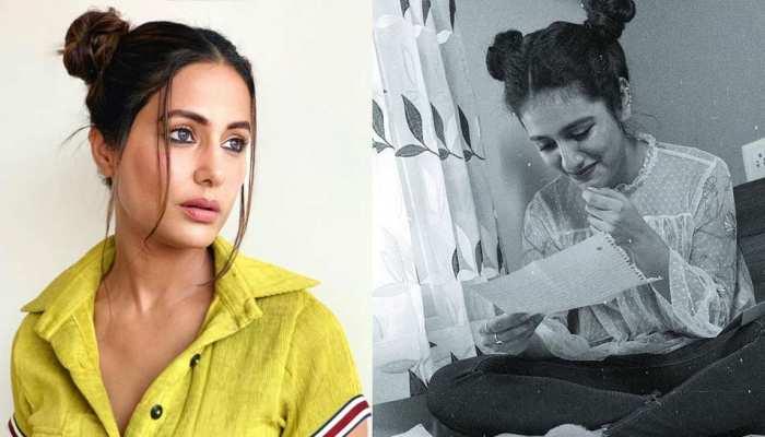 Hina Khan Mickey Mouse look compared with priya prakash varrier goes viral