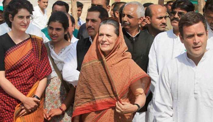 कल अमेठी से नामांकन करेंगे राहुल गांधी, सोनिया-प्रियंका के साथ करेंगे रोड शो
