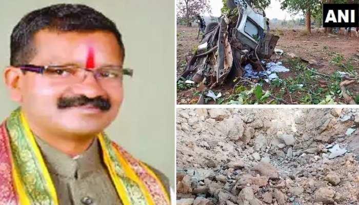दंतेवाड़ा: नक्सली हमले में BJP विधायक भीमा मंडावी की मौत, सुरक्षाकर्मी समेत 5 जवान शहीद