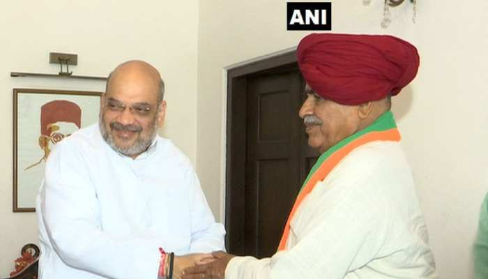 राजस्थान: चुनाव से पहले दोबारा बीजेपी में शामिल हुए किरोड़ी सिंह बैंसला