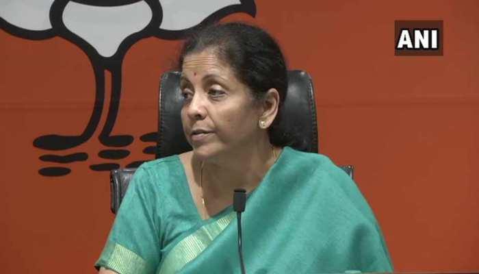 राफेल मामले पर रक्षा मंत्री बोलीं, 'राहुल गांधी ने पार की हदें, सुप्रीम कोर्ट ने नहीं उठाए सवाल'