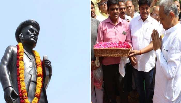 राजस्थान: ज्योतिबा फुले की जयंती पर सीएम अशोक गहलोत, मदनलाल सैनी ने दी श्रद्धांजलि
