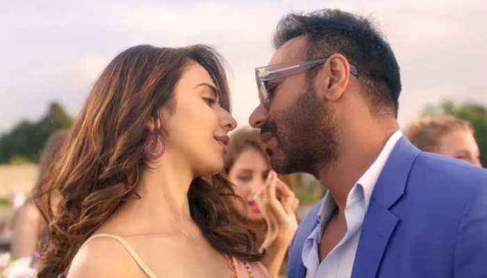 'दे दे प्यार दे' का पहला गाना हुआ रिलीज, 'वड्डी शराबन' पर फिदा हुए अजय देवगन!