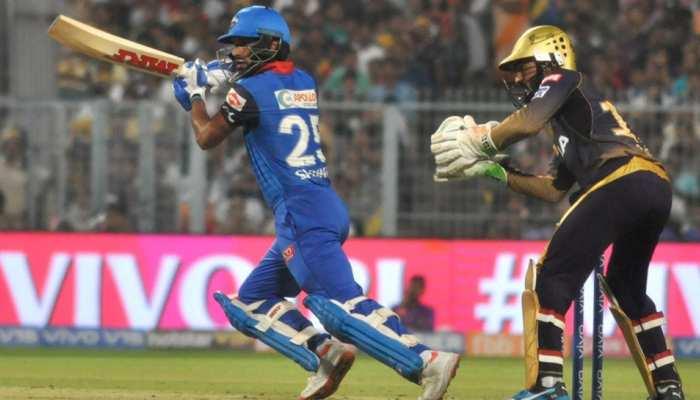 IPL-12: शिखर धवन के बल्ले का चला जादू, दिल्ली ने कोलकाता को दी शिकस्त