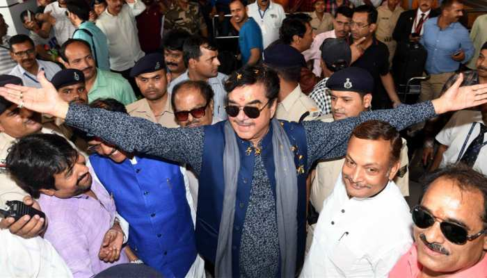 रविशंकर प्रसाद से निजी दुश्मनी नहीं, रिकॉर्ड मतों से जीतूंगा चुनाव: शत्रुघ्न सिन्हा
