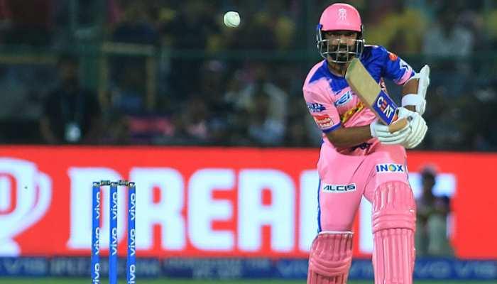 IPL 2019: राजस्थान को मिली जीत, फिर भी बल्लेबाजों से खुश नहीं हैं कप्तान रहाणे