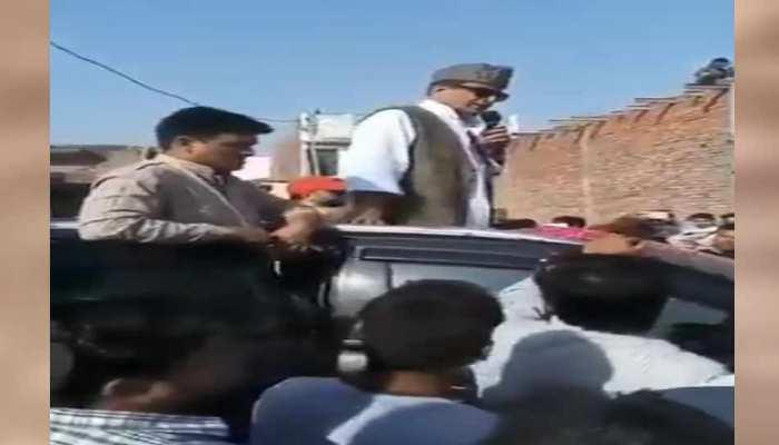 आजम खान का एक और वीडियो वायरल, बोले- मायावती की तरह कलेक्टर से साफ कराऊंगा जूते