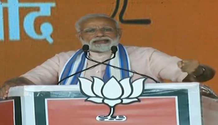 पीएम नरेंद्र मोदी ने कहा, 'एक वोट' की ताकत से संभव हुई सर्जिकल, एयर स्ट्राइक