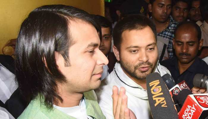 तेजप्रताप यादव ने मनाया अपना 30वां जन्मदिन, तेजस्वी ने भाई को दिया 'टॉप सीक्रेट' गिफ्ट