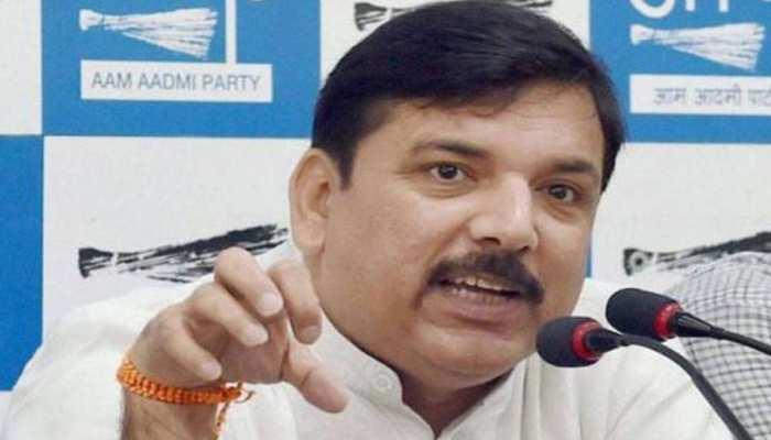 AAP नेता संजय सिंह ने कहा, 'कांग्रेस के साथ गठबंधन की कोशिश अब पूर्ण विराम की ओर'