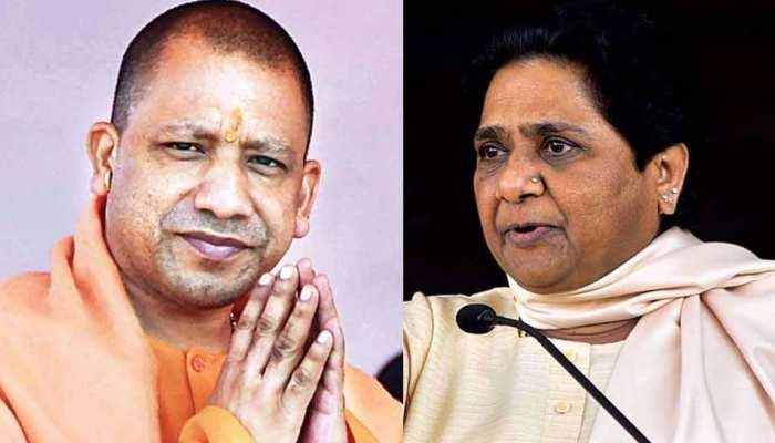 CM योगी वाराणसी के मंदिरों में करेंगे पूजा, मायावती ने बताया ड्रामा, आयोग से पूछा सवाल
