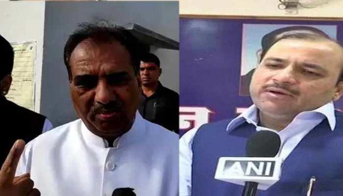 अमरोहा: कंवर सिंह तंवर का आरोप, बुर्के की आड़ में हो रही है फर्जी वोटिंग, BSP नेता ने दिया जवाब