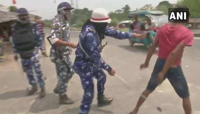 पश्चिम बंगाल में हिंसाः BJP का आरोप, 'TMC के लोग बूथ लूटने की कोशिश में लगे'