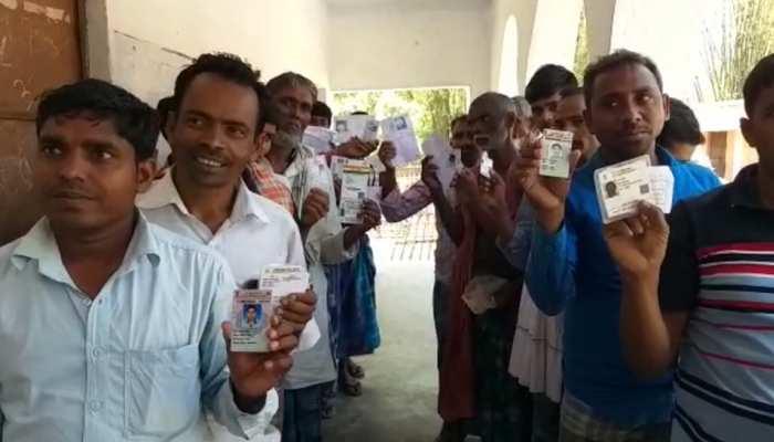 बिहार की 5 लोकसभा सीटों पर वोटिंग जारी, दोपहर 5 बजे तक 58.14 प्रतिशत मतदान