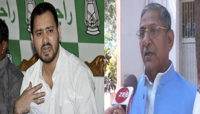 तेजस्वी यादव के आरोप पर BJP नेता ने कहा, नहीं देना चाहिए बच्चों की बात पर ध्यान