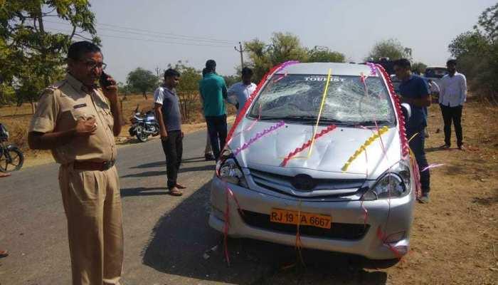 राजस्थान में दुल्हन की किडनैपिंग मामले को लेकर राजपूतों ने किया प्रदर्शन