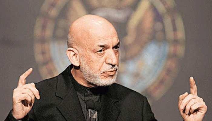 हामिद करजई ने कहा, 'शांति तभी संभव जब सभी अफगानी एकसाथ बैठकर बात करें'
