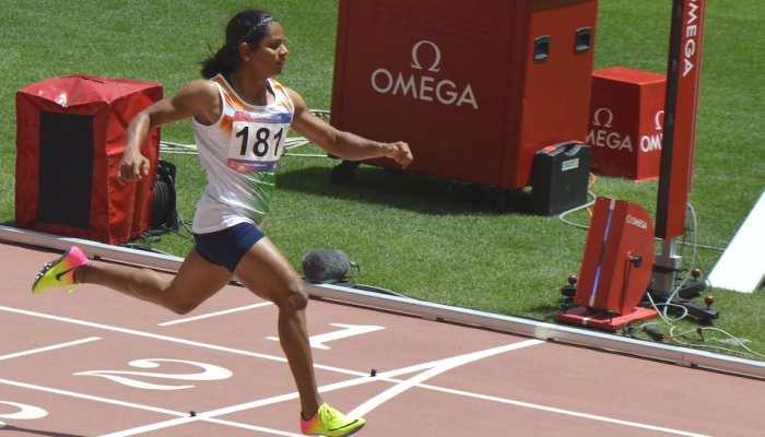 एशियाई एथलेटिक्स: दुती ने अपना ही रिकॉर्ड तोड़ा, चोटिल हिमा दास बाहर