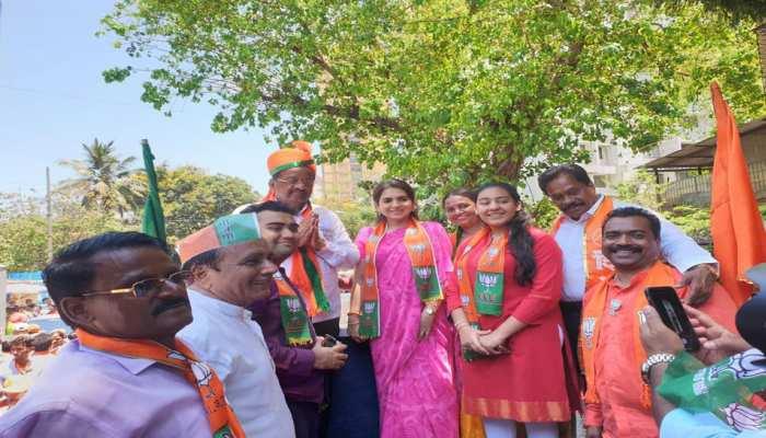 BJP leader Shaina NC targets Urmila Matondkar, calls her a glamour doll with no political experience