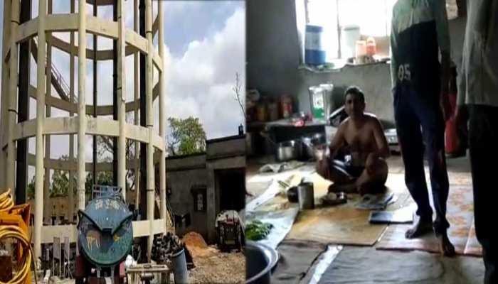 कोटा: मंत्री के इलाके में जलदाय विभाग का ऑफिस बना रैन बसेरा,अधिकारी बेखबर