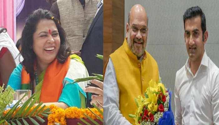 पूर्वी दिल्ली से गौतम गंभीर होंगे बीजेपी के उम्मीदवार, मीनाक्षी लेखी को नई दिल्ली से टिकट