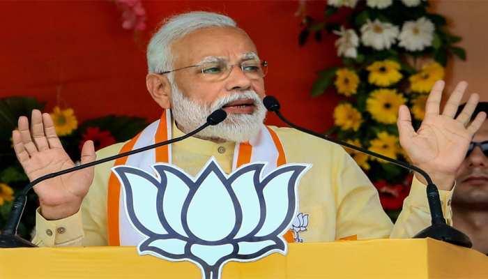पीएम मोदी ने विपक्षियों पर कसा तंज, कहा- PM बनने के लिए 'सब घुंघरू बांधकर तैयार हो गए'