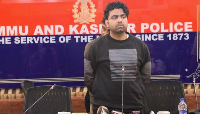 पाकिस्तान में लखवी द्वारा ट्रेंड हुआ आतंकी घाटी से हुआ गिरफ्तार, 2 साल से था सक्रिय