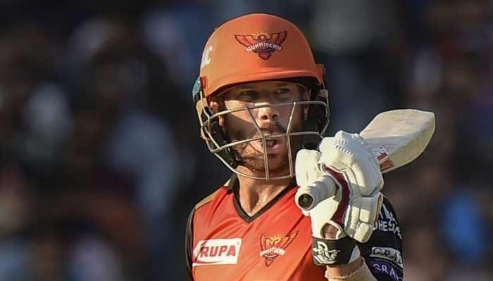 IPL 2019: ऑरेंज कैपधारी वार्नर चौके-छक्के के लिए तरसे, फिर भी बना दिए ये रिकॉर्ड