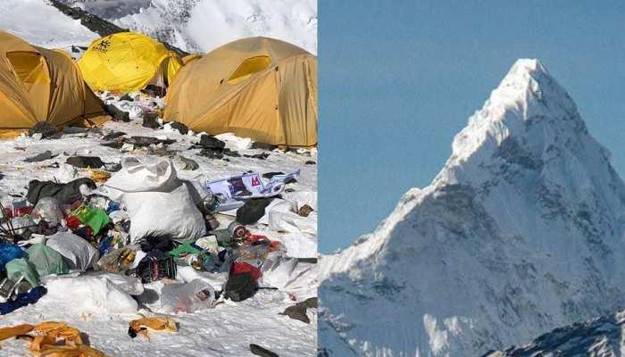 'Everest Cleaning Campaign': एवरेस्ट पर भी फेंक आए 3000 किलो कचरा