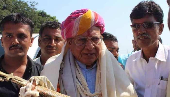 गुजरात के पूर्व CM शंकर सिंह वाघेला का दावा, '23 मई को गिर जाएगी रूपाणी  सरकार'
