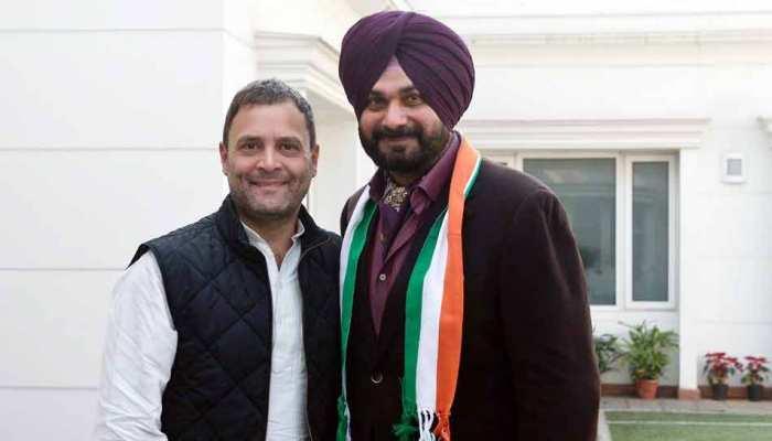 सिद्धू की फिर फिसली जुबान, बोले- 'छक्का' मार BJP सरकार को सत्ता से बाहर करें