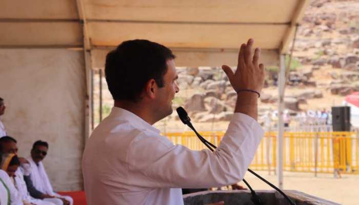 MP: राहुल गांधी बोले- 'मैं सिर्फ 'चौकीदार' कहता हूं, जनता अपने आप 'चोर' चिल्लाने लगती है'