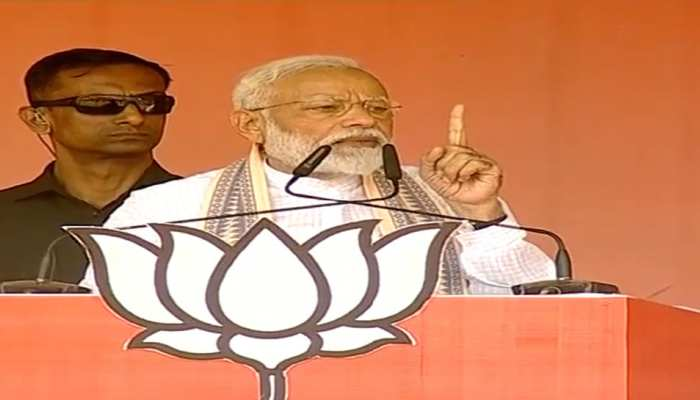 बहराइच में बोले PM नरेंद्र मोदी, 'मेरे डर की वजह से रुकी हैं आतंकवाद की घटनाएं'