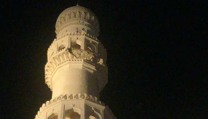 हैदराबाद: 16वीं सदी में निर्मित चारमीनार का हिस्सा गिरा, मरम्मत का हो रहा था काम