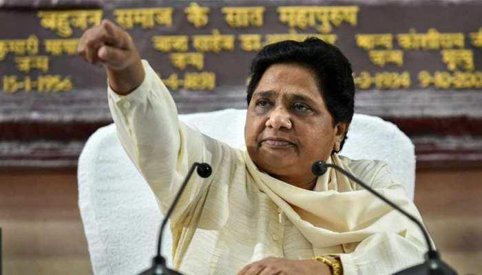 कांग्रेस-बीजेपी एक होकर सपा-बसपा गठबंधन के खिलाफ लड़ रहे हैं चुनाव: मायावती
